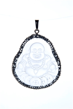 Glass Buddhism Pendants P0322