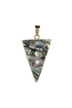 Triangle Mother Of Pearl Pendant P0464