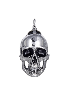 Stainless Steel Skull Pendants P0473