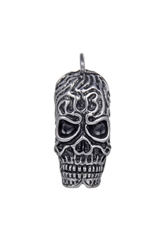 Stainless Steel Skull Pendants P0475