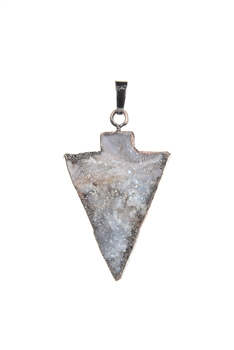 Inverted Triangle Shaped Natural Stone Pendant P0502