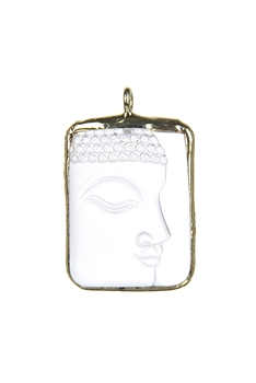 Buddha Side Face Pendants P0540 - Gold