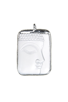 Buddha Side Face Pendants P0540 - Silver