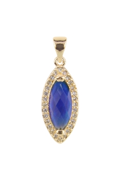 Crystal  Gemstone Pendant P0581