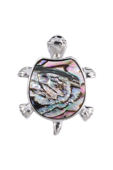Tortoise Mother of Pearl Pendant P0605