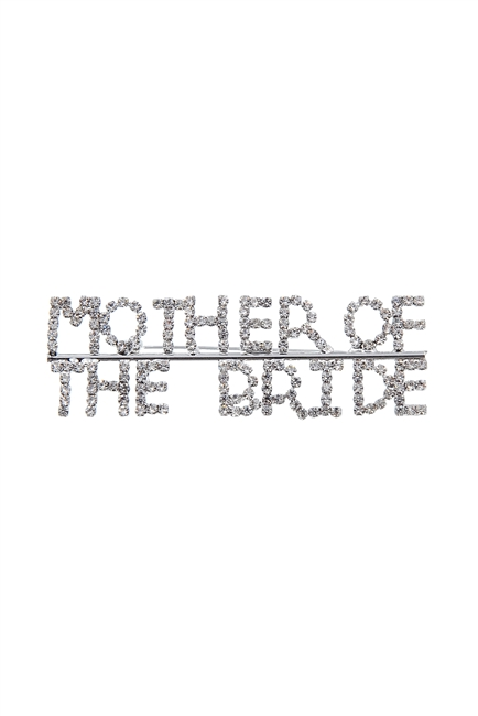Crystal Accent MOTHER OF THE BRIDE Brooch PA3157