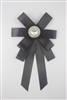 Bowtie Brooches PA3172 - Black
