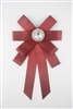 Bowtie Brooches PA3172 - Red