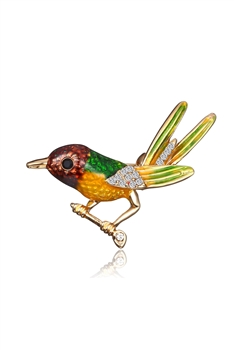 Alloy Birds Brooch PA3199