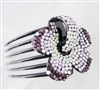 Hair Combs and Pins-L2066-PURPLE
