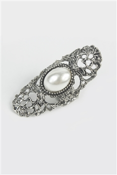 Pearl and Crystal Rings R1216