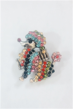 Dog Shaped Rhinestone Rings R1301