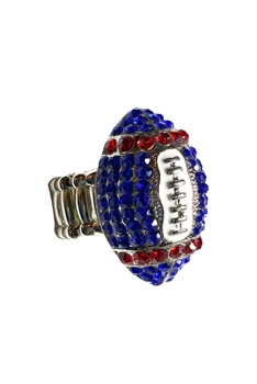 Football Crystal Strech Rings R1345