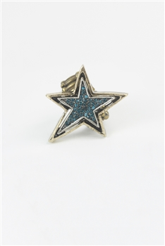Crystal Star Rings R1364