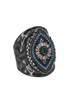 Zircon Against Evil Eyes Rings R1618