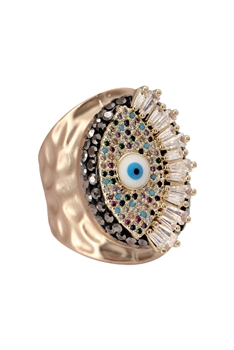 Zircon Against Evil Eyes Rings R1620