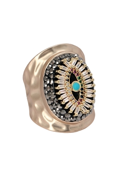 Zircon Against Evil Eyes Rings R1621