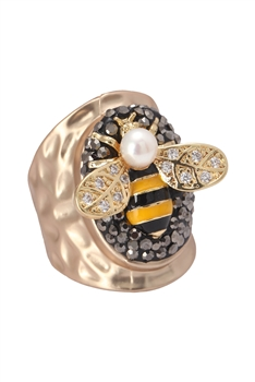 Zircon Bee Rings R1622