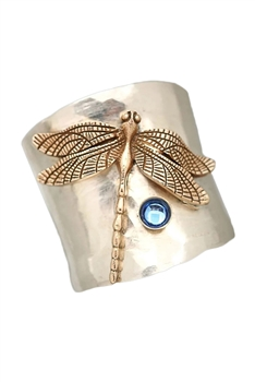 Dragonfly Alloy Rings R1655