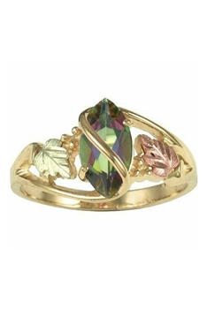 Zircon Copper Rings R1766