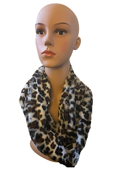 Animal Pattern Infinity Scarf S0037 - NO.1