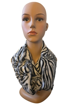 Animal Pattern Infinity Scarf S0037 - NO.2