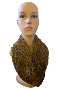 Animal Pattern Infinity Scarf S0037 - NO.3
