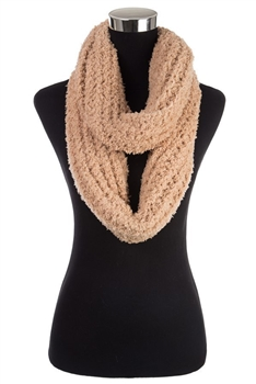 Faux Fur Scarf SFX363 - Brown