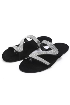 Rhinestone Sandals Slippers SH0013