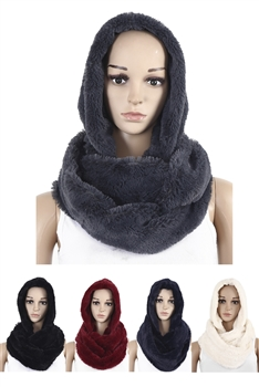 Fur Infinity With Hood SXX-221
