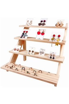 Wooden Earring , Necklace, Rings  Jewelry Display W1333