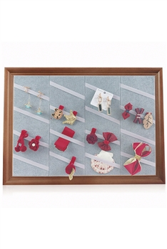 Wooden Hairclip Jewelry display Frame W1336