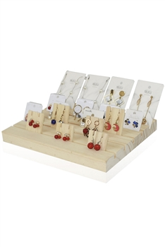 Wooden Jewelry Display W1338