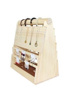 Wooden  Jewelry Display Frame W1339