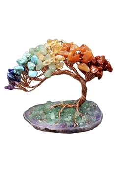 Natural Stone Tree Display W1388