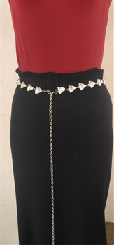 Crystal Dotted Chain Belts