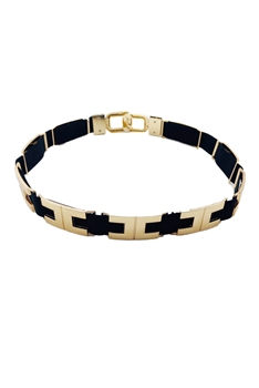 Alloy Buckle Elastic Belts WA0064 - NO.5