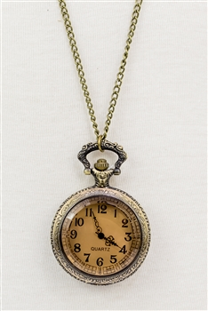 Filigree Watch Necklace WH0007-L