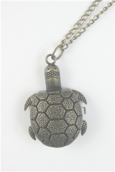 Sea Turtle Watch Necklace WH0023