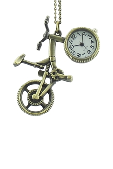 Bike Watch Necklace WH0032