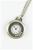 Crystal Dotted Watch Necklace WH0035