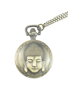 Buddha Watch Necklace WH0043