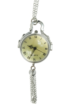 Watch Necklace WH0110 - Silver