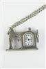 Sewing Machine Metal Watch Chain Necklaces WH0130