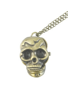 Skull Watch Necklace WH0134