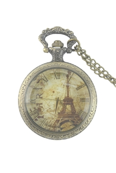 Paris Watch Necklace WH0146