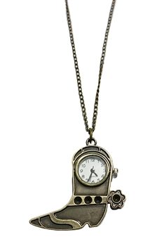 Boots Watch Necklace WH0148