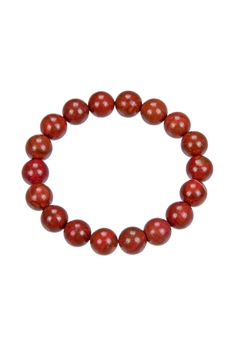 Red Jasper Stone Stretch Bracelets b1729 - 10MM