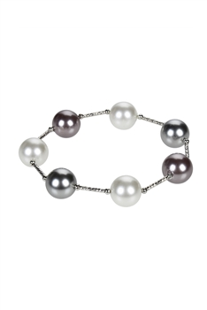 Hot Trend Charming Round Pearl Stretch Bracelets B1951