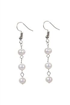 New Design Beaded Pearl Earrings E2075